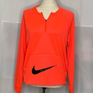 Nike girls quarter zip sweatshirt